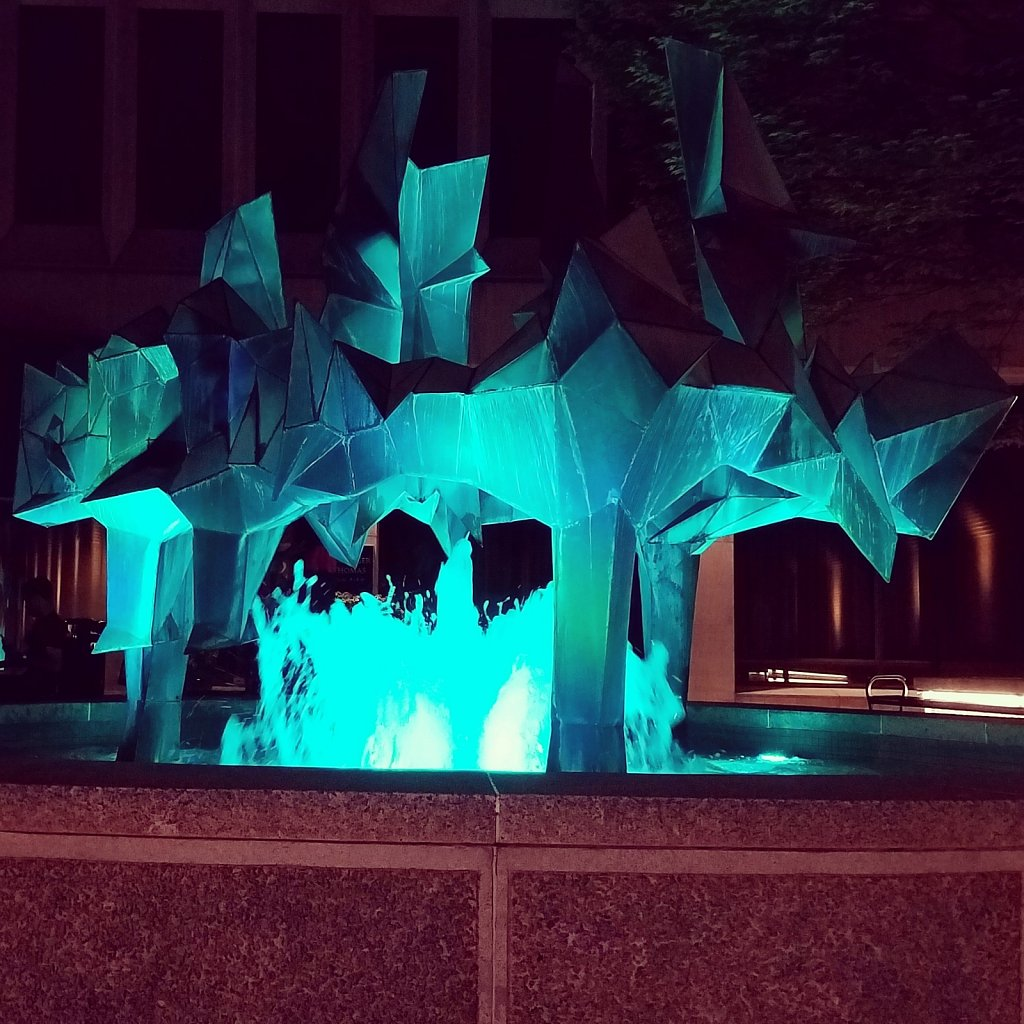 Lancaster Convention Center Fountain