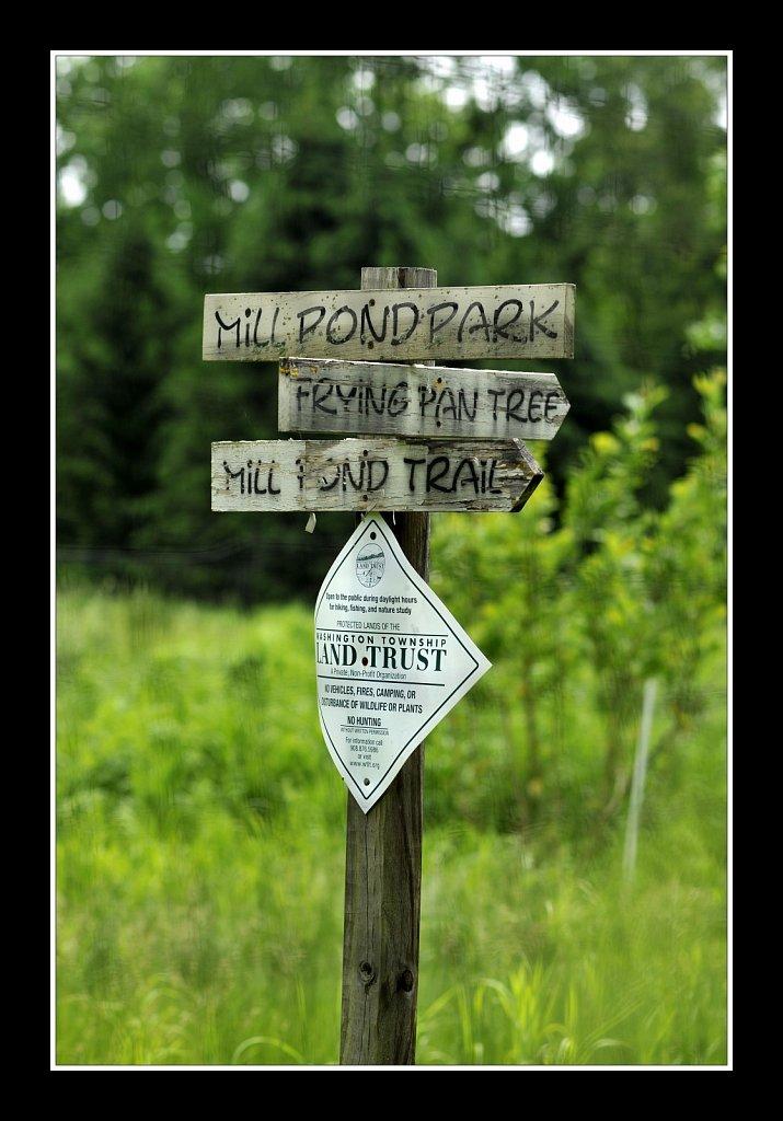 Mill Pond Park Columbia Trail