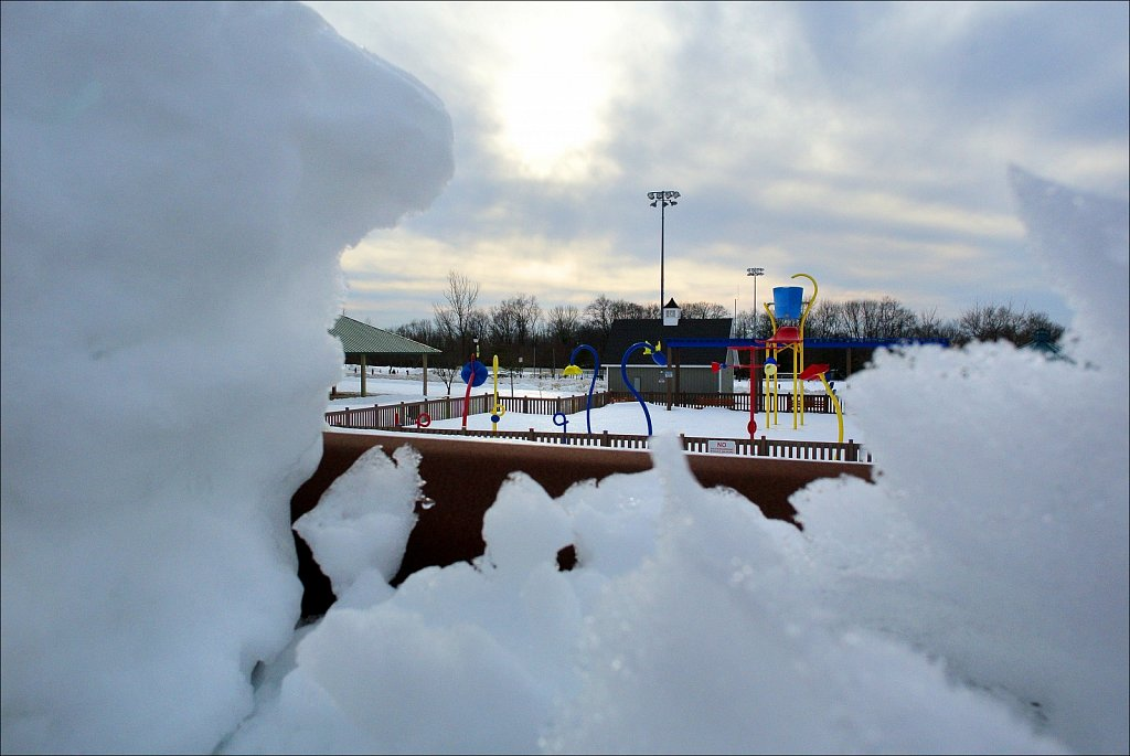 Turkey Brook Park Under Snow