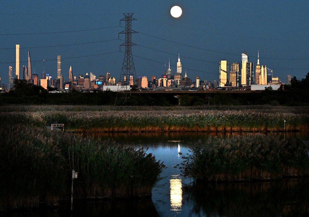 Moon Over NYC